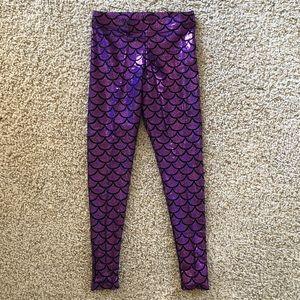 Blackmilk Purple Mermaid Leggings BNWOT